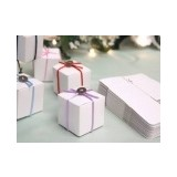 Set of 100 Cube Favor Boxes
