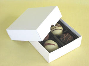 Set of 25, 2pc Favor Boxes (with blank insert)