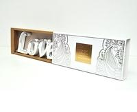 "Acrylic Mirrored Words ""Love"""