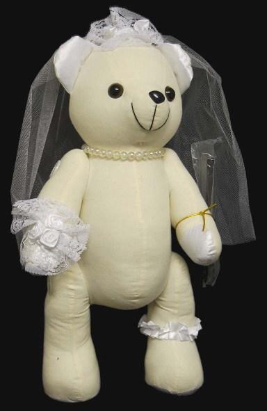 'Bride' Doodle Bear