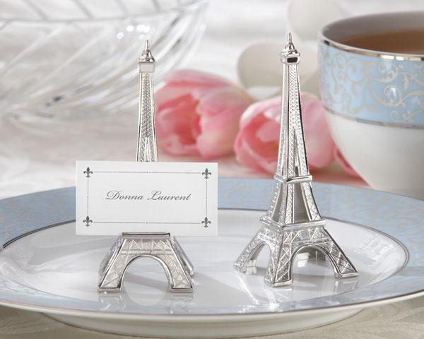 Set of 4 Eiffel Tower Place Card Holders