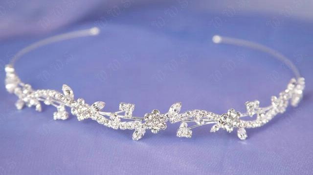 Rhinestone bridal tiara