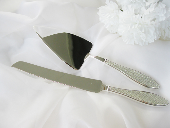 Cake server set - rhinestone