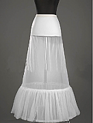 Two hoop petticoat
