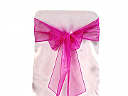 Set of 5 Chair Sashes - Organza