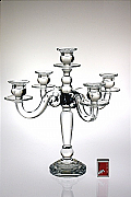Glass candelabra 02