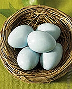 Set of 24 Birds Nests with Sugared Almonds