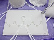 Satin & Organza Guest Book