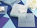 """Love"" Coaster Set of 4"