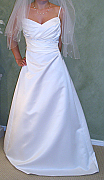 Brand new Australian Made Wedding dress, size 10, one only