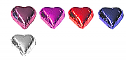 Chocolate Hearts - 125 approx, choice of colours