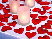Heart Shaped Petals - 500 per pack