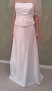Brand new Australian Made 2-piece Wedding dress, size 14, one only - 008