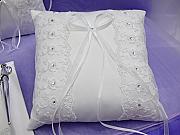 Organza & Satin Ring Pillow