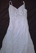 Pale powder blue chiffon Bridesmaids dress, size 12