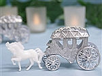 Romantic Cinderella Carriage and horses