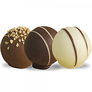 Gourmet selection of belgian truffles - 94 chocolates
