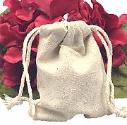 Jute favor bags - set of 50