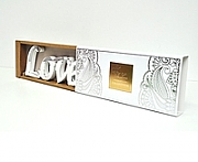 "Acrylic Mirrored Words ""Love"""