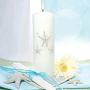 Beach Unity Candle & Taper Set