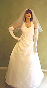 Brand new Australian Made Wedding dress, size 16, one only - 006