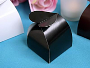 Heart topped favor boxes - set of 100