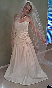 Brand new Australian Made Wedding dress, size 10, one only - 002