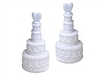 Bubble - Cake shaped bottles - box of 24