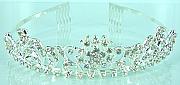 Rhinestone bridal tiara 005
