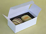 Chocolate box with blank insert for filling - set of 25