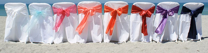 Chair Sashes and Covers