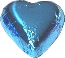 Chocolate Hearts - 5kg - approx 625