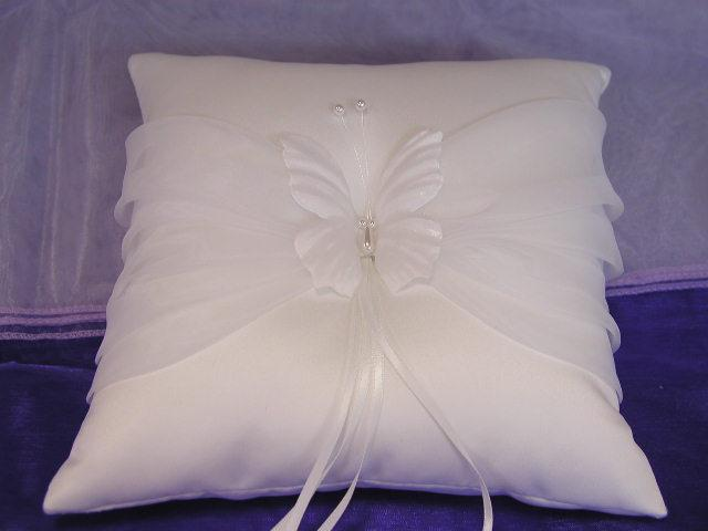 Butterfly Ring Pillow