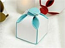 Two Tone Favour boxes, set of 100, choice of colours