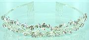Rhinestone bridal tiara 003