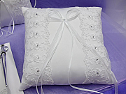 Organza & Satin Ring Pillow