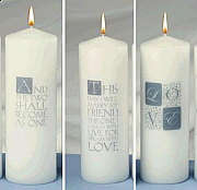 Unity Ceremony Candle