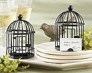 Birdcage Name Card Holder / Tealight Candle Holder
